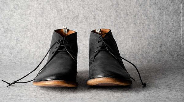 Chukka Boots . Tire Black