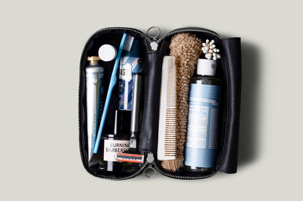 Full Disclosure Dopp Kit . Coal
