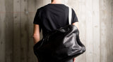 Offhand Shoulder Bag . Coal