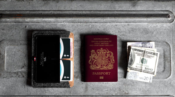 Passport Wallet . Classic