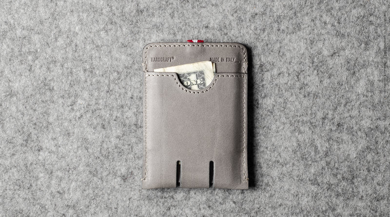 Push Card Case . Off Grey