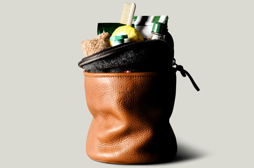 Refresh Dopp Kit . Classic - waxed canvas dopp kit