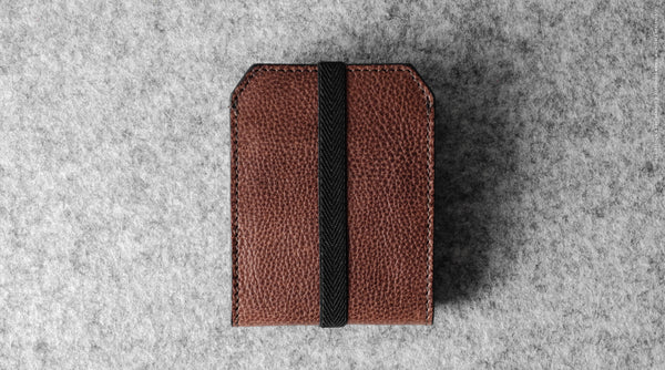 Ta-Da! Card Case . Chestnut