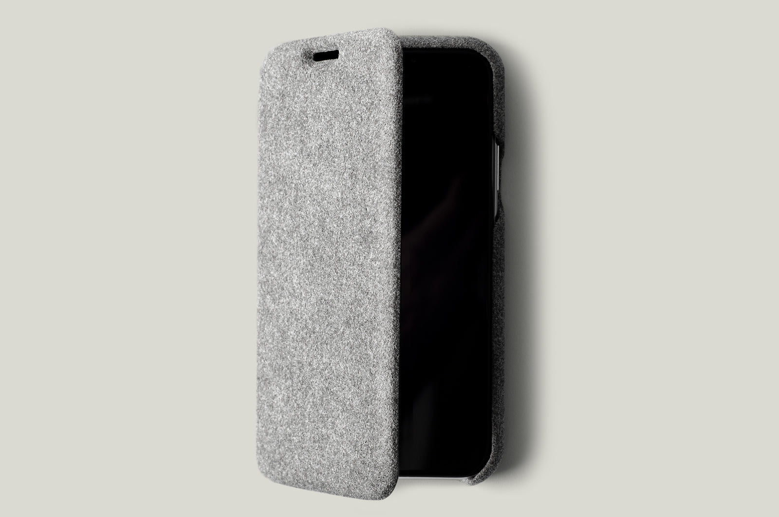alcantara iphone cover