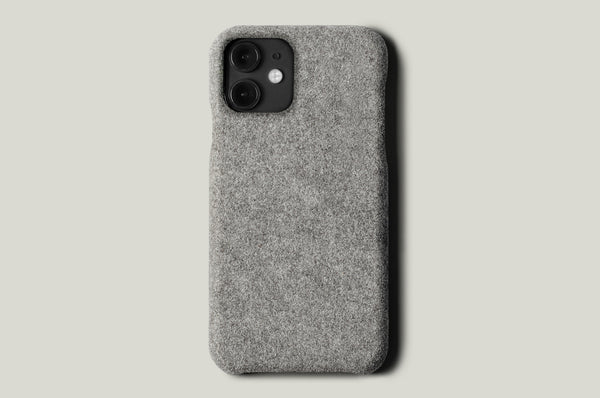 Fuzzy iPhone 11 Cover . Alcantara