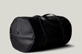 Barrel Bag . Black Coated