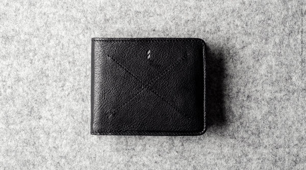Cash Card Wallet . Coal
