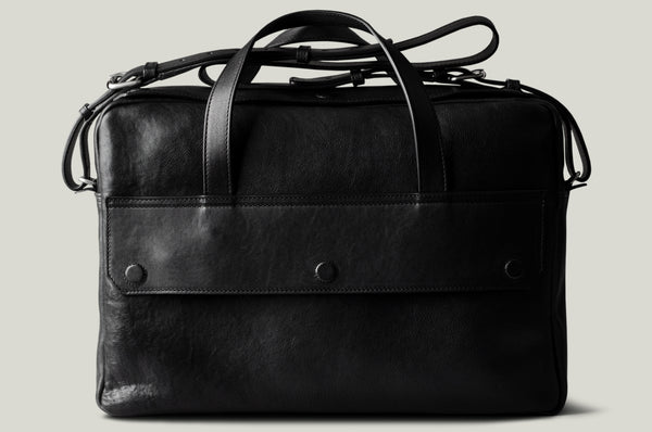 Long Haul Briefcase . Coal