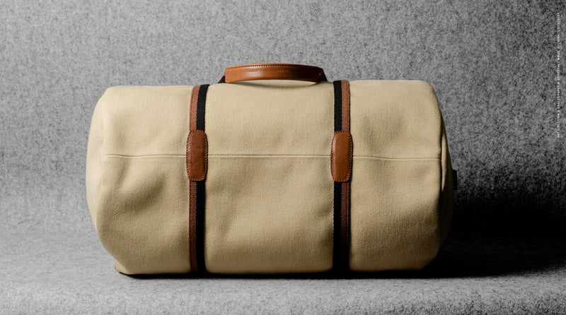 Barrel Bag . Canvas