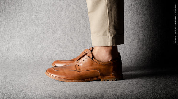 Casual Derby Shoes . Classic