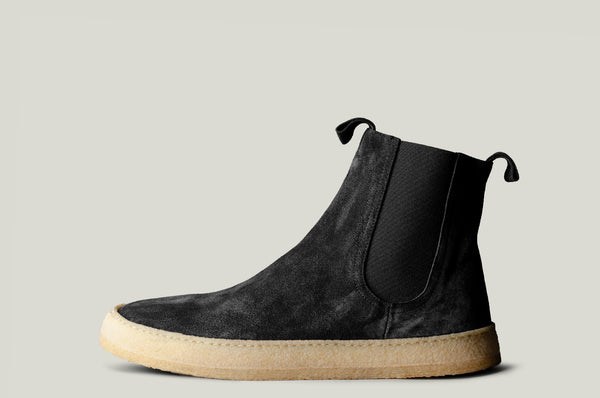 Chelsea Boots . Off Black