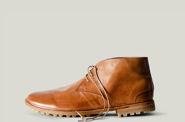 Chukka Hike Boots brown leather