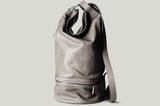 Duffle Backpack . Off Grey