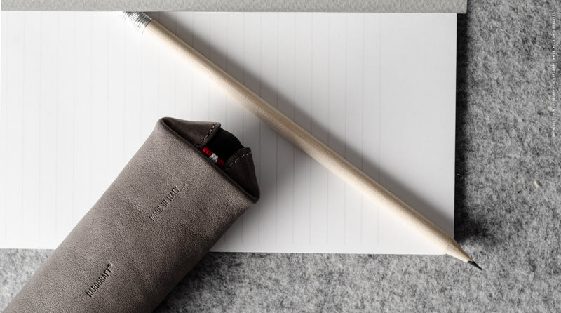 Fat Stick Pencil Case . Off Grey