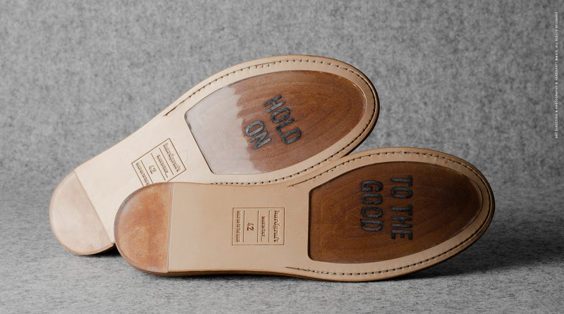 In & Out Slip Ons. Kastanie