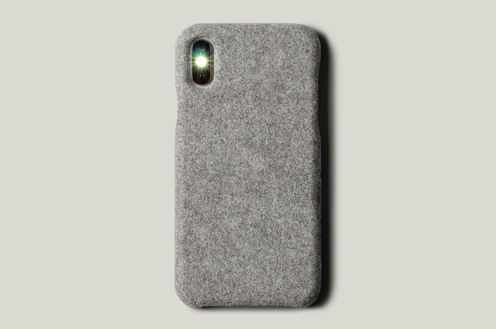 Fuzzy iPhone Cover . Alcantara