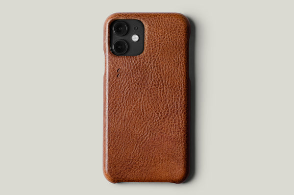 Rich Leather iPhone 11 Cover . Classic