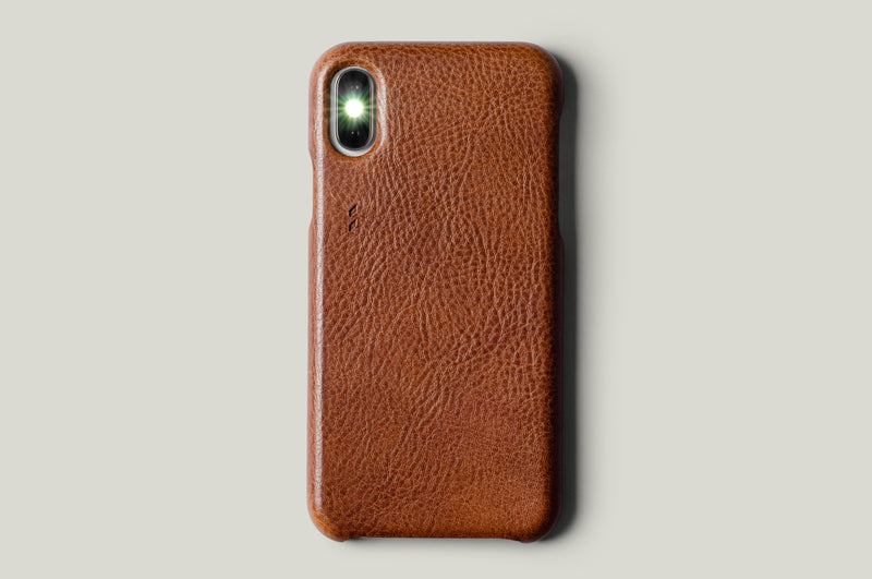 Rich Leather iPhone SE Cover . Classic