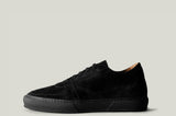 Low Top Sneaker Black Suede