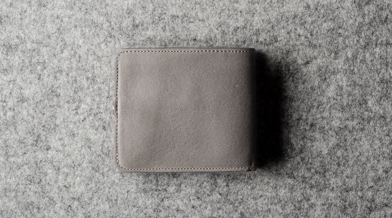 Cash Card Wallet . Off Grey