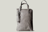 Portrait Briefcase . Off Grey