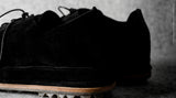 Pure Suede Shoes . Hairy Black