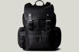 Rucksack . Black Coated