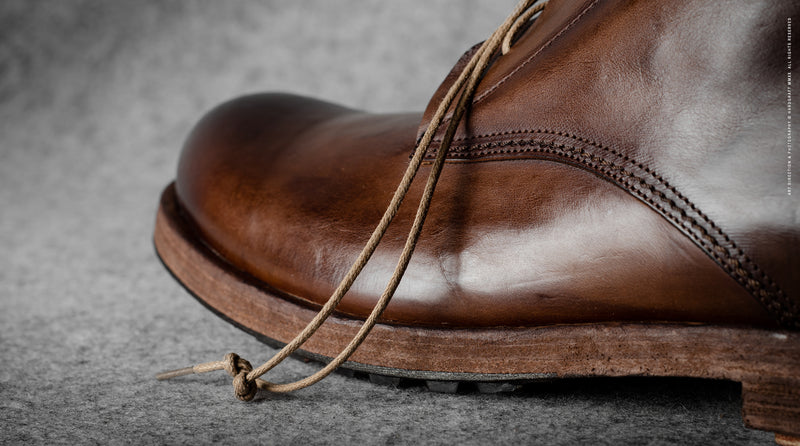 Rugged Boots . Chestnut
