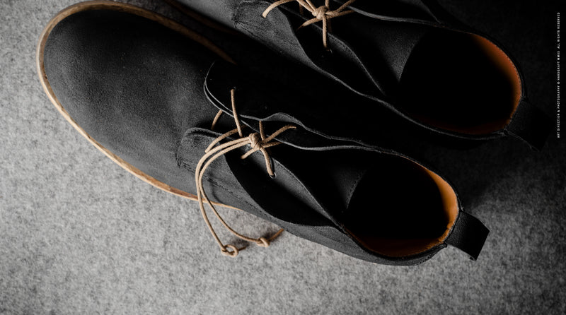 Rugged Boots . Dusty Black