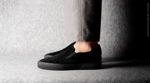 Slip-On Sneaker . Black