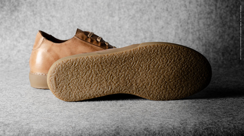 Low Top Sneaker . Sand