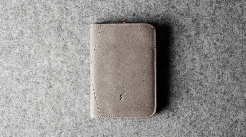 Trip Passport Cover . Off Grey