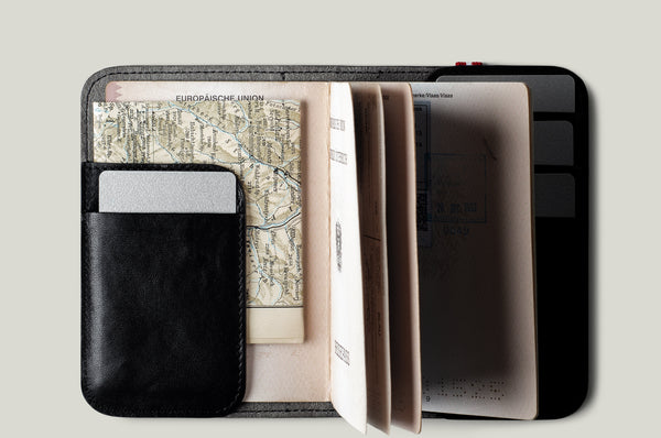 Trip Passport Cover . Coal