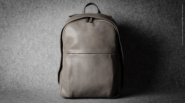 Well-Rounded Backpack . Off Grey