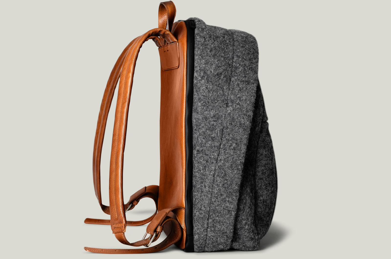 Well-Rounded Wool Backpack . Classic