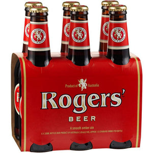 Little Creatures Rogers' Amber Ale Bottles 330mL pack sell