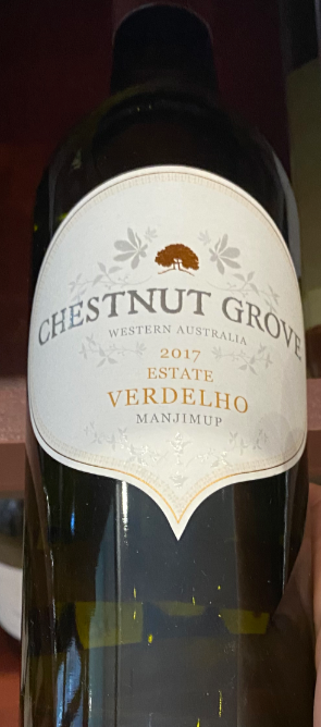2017 Chestnut Grove Estate Verdelho