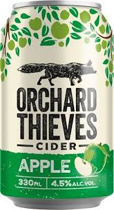 Orchard Thieves Crisp Apple Cider  330mL  pack sell