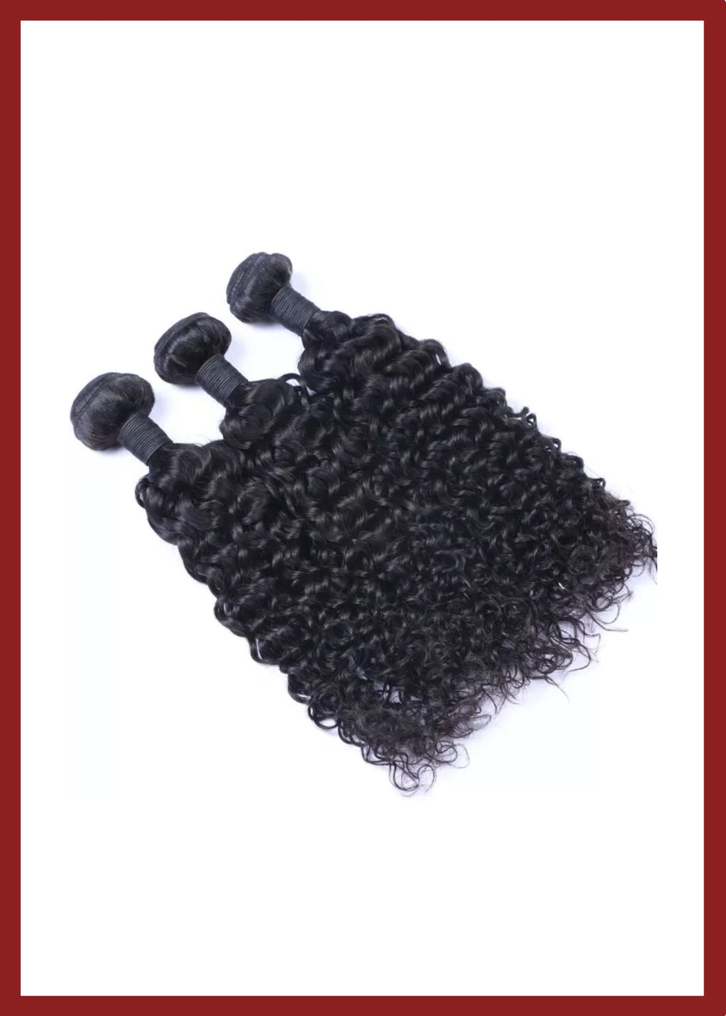 Meisha Beauty Kinky Curly Bundles