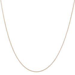 "18"" Cable Chain 9k Gold"