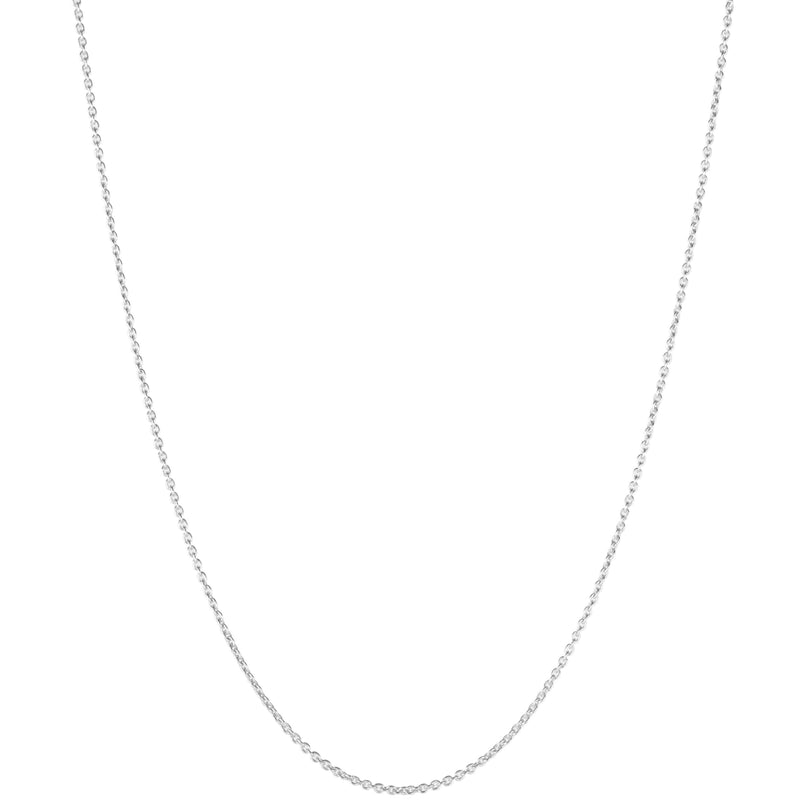 "18"" Cable Chain Sterling Silver"