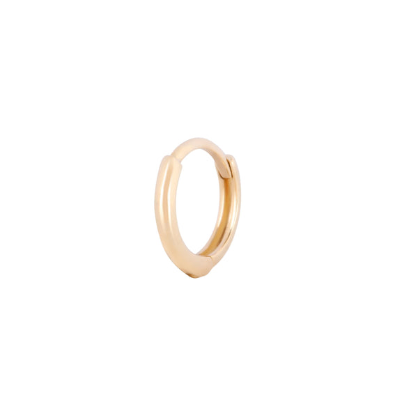 Mini Huggie Hoop Earring 9k Gold