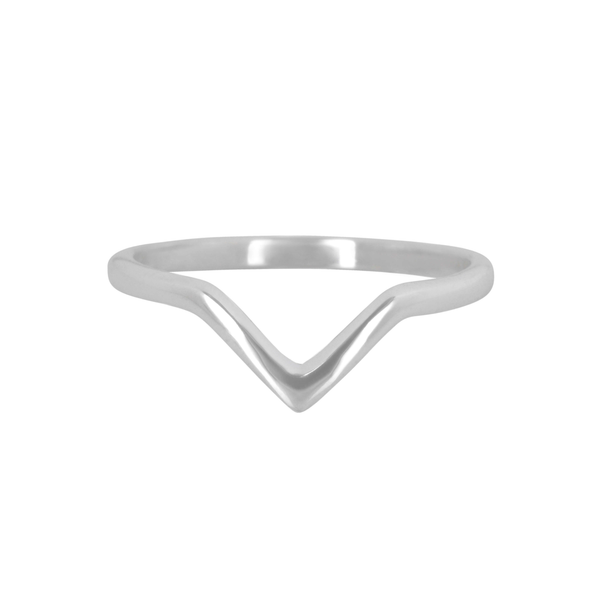 Wishbone Ring Sterling Silver