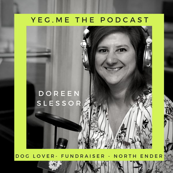 Doreen Slessor - YEG Me about Dogs with Wings and what that is all about
