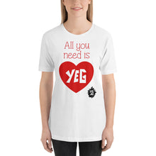 Load image into Gallery viewer, All you need is YEG! Short-Sleeve Unisex T-Shirt