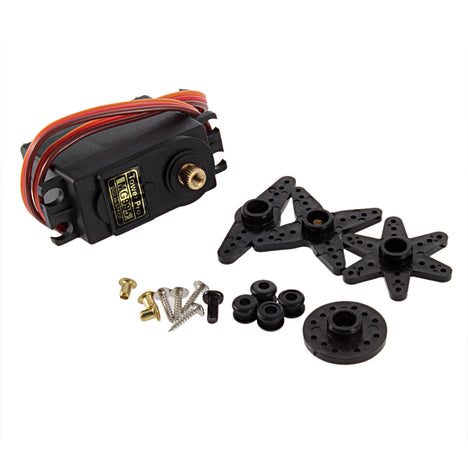 Fraser MG995 full metal gear servos large torque 90 degrees 360 degrees  analog servos server SERVO Type=MG995 with disc accessories,Technical