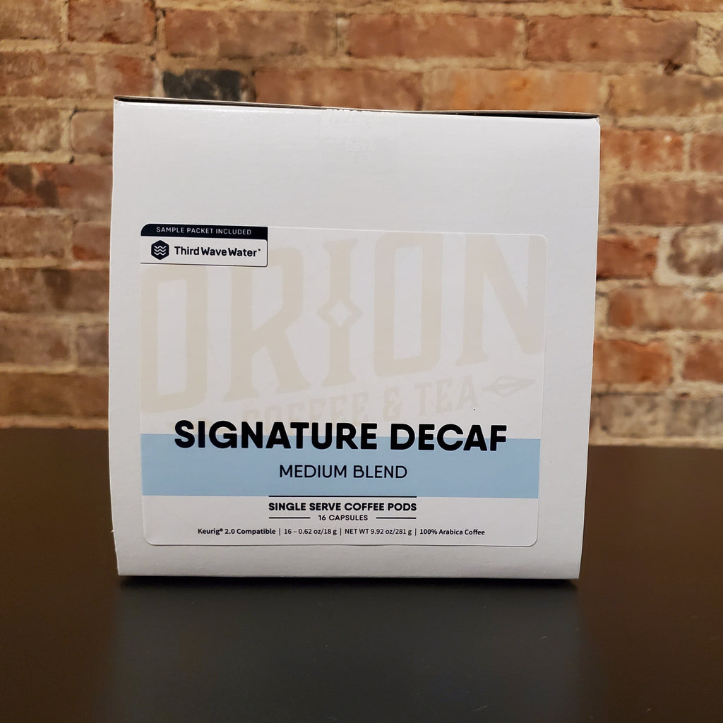 Orion Signature Decaf
