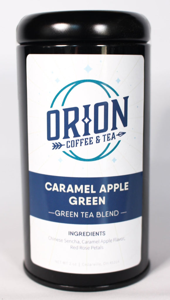 Caramel Apple Green Tea
