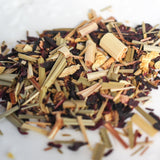 Lemon zInger loose leaf herbal tea