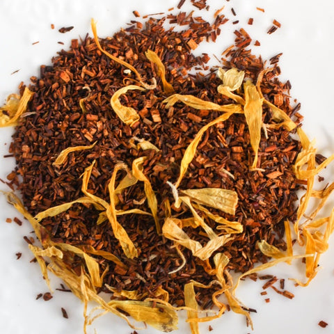 Orange basil herbal tea